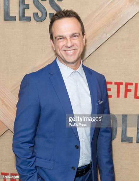 Carlos Rafael Rivera attends Netflix Godless premiere at Metrograph