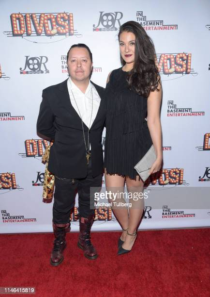 Carlos Ramirez and guest attend a Los Angeles VIP industry screening with the filmmakers and cast of DIVOS at TCL Chinese 6 Theatres on May 01 2019...