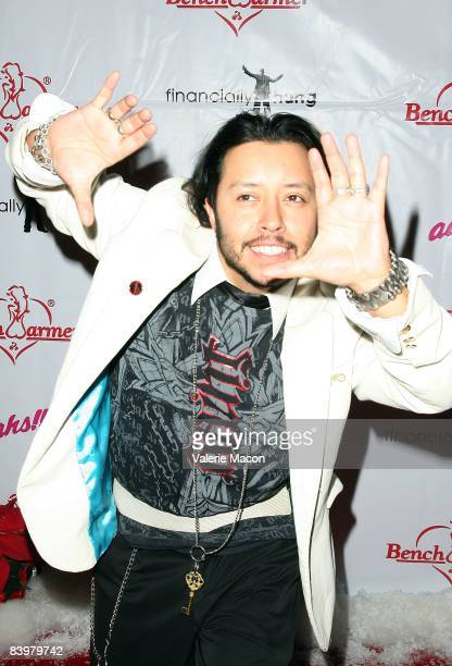 Carlos Ramirez arrives at the Bench Warmer Trading Cards Toy Drive at the Kress on December 9 2008 in Hollywood California