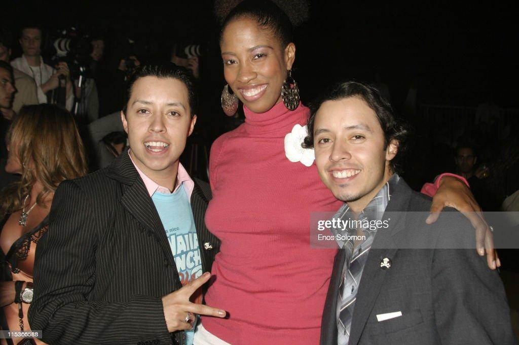 Carlos Ramirez, Shondrella Avery and Efrain Ramirez
