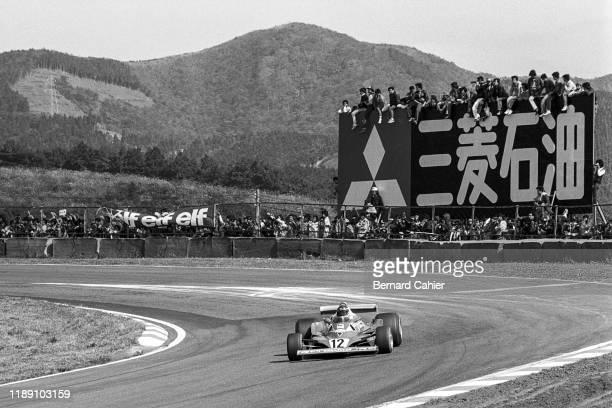 Carlos Reutemann, Ferrari 312T2, Grand Prix of Japan, Fuji Speedway, 23 October 1977.