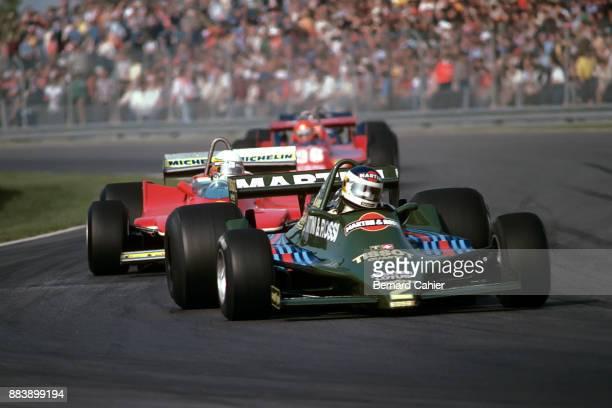 Carlos Reutemann Jody Scheckter LotusFord 79 Ferrari 312T4 Grand Prix of Canada Circuit Gilles Villeneuve 30 September 1979