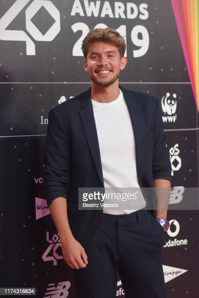 Carlos Right attends the 40 Principales Awards nominated dinner at Florida Retiro on September 12 2019 in Madrid Spain
