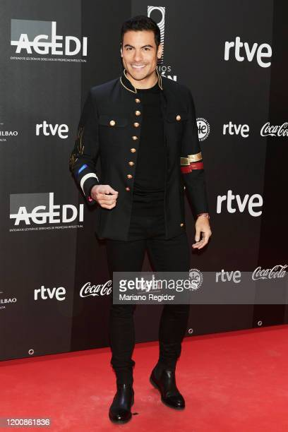 Carlos Rivera attends Odeon Awards 2020 at Royal Theater on January 20 2020 in Madrid Spain