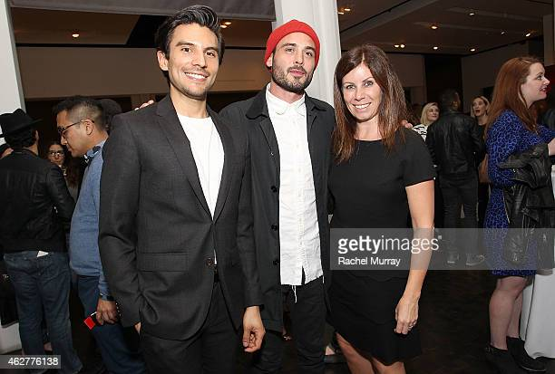Carlos RiveraAnaya Sean Sullivan and Emma Paton attend Kingsman 'Costume To Collection' awardwinning costume designer Arianne Phillips in...