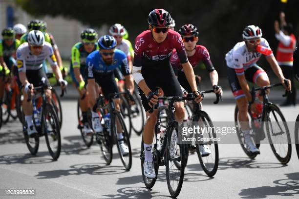 Carlos Rodriguez Cano of Spain and Team INEOS / Peloton / during the 6th UAE Tour 2020 Stage 5 a 162km stage from Al Ain to Jebel Hafeet 1033m /...