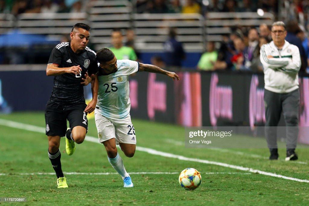 Argentina v Mexico - FIFA Friendly Match : News Photo