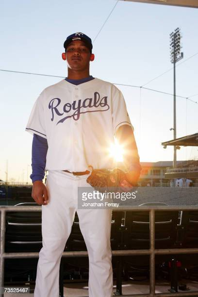 Carlos Rosa of the Kansas City Royals poses for a portrait during Photo Day on February 25 2007 at Surprise Stadium in Surprise Arizona