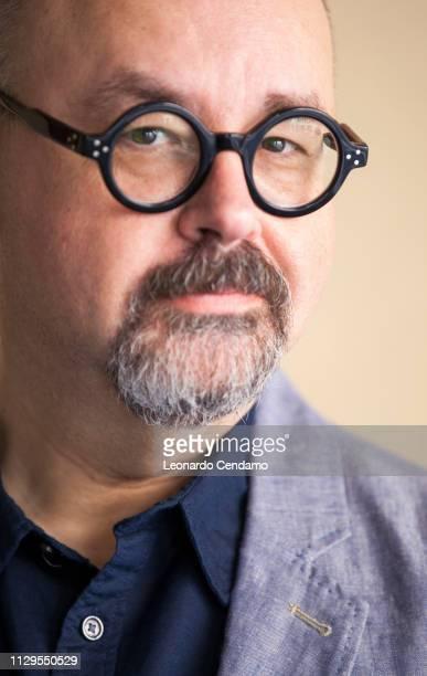 Carlos Ruiz Zafon Barcellona writer Milan Italy 13th September 2017