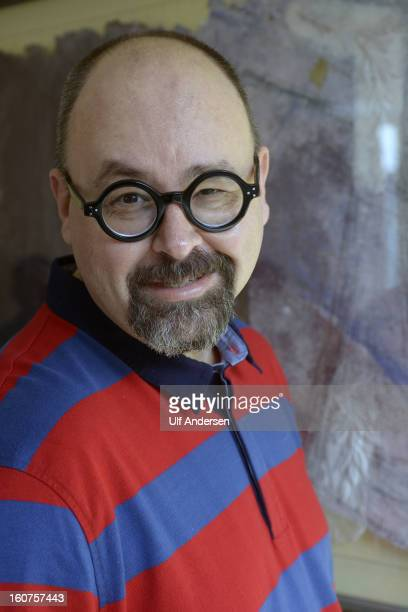 Carlos Ruiz Zafon Spanish writer poses during a portrait session held on January 30 2013 in Barcelona Spain
