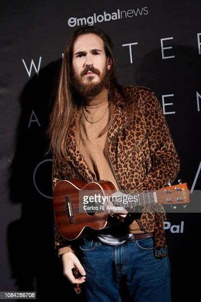 Carlos Sadnes attends the Winter Anthem Gala photocall at Circulo de Bellas Artes on December 18 2018 in Madrid Spain