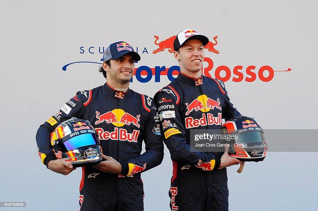 Toro Rosso STR 12 Launch : Photo d'actualité