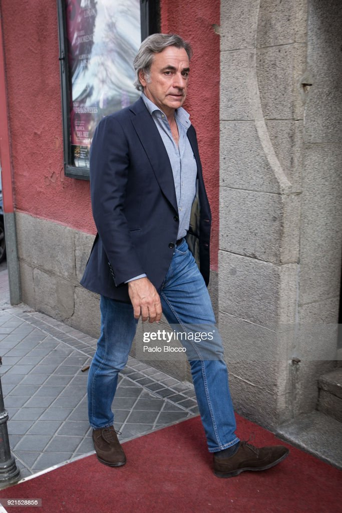 Carlos Sainz attends 'Pata Negra' awards at the Corral de la Moreria club on February 20, 2018 in Madrid, Spain.