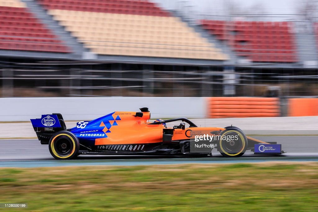 F1 Winter Testing In Barcelona - Day Three : News Photo