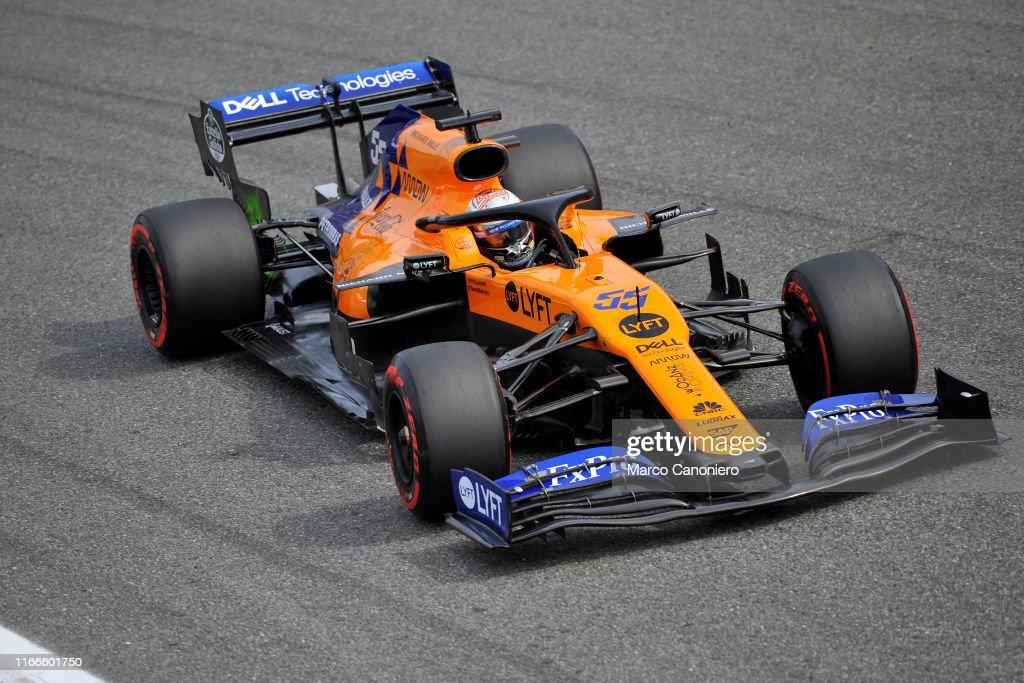Carlos Sainz Jr  of McLaren F1 Team during qualifying for