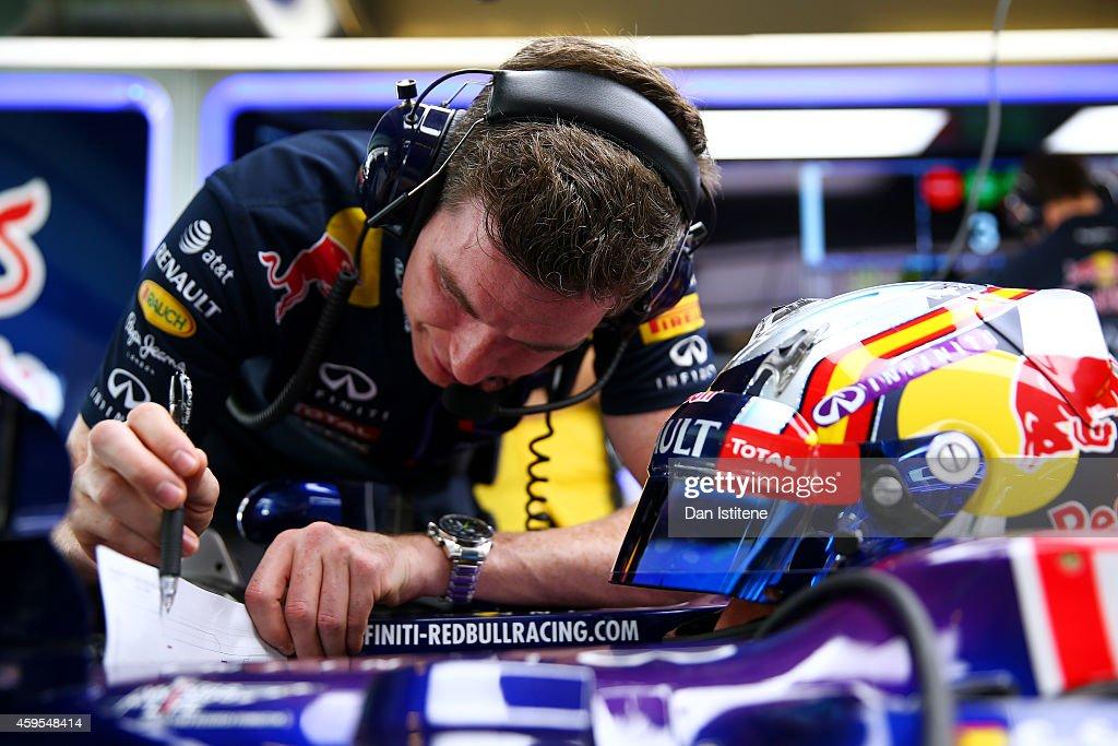 F1 Testing In Abu Dhabi - Day One : News Photo