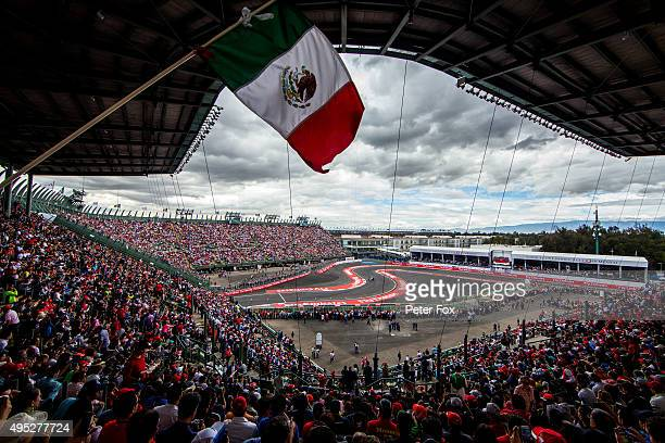 Carlos Sainz of Scuderia Toro Rosso and Spain during final practice for the Formula One Grand Prix of Mexico at Autodromo Hermanos Rodriguez on...