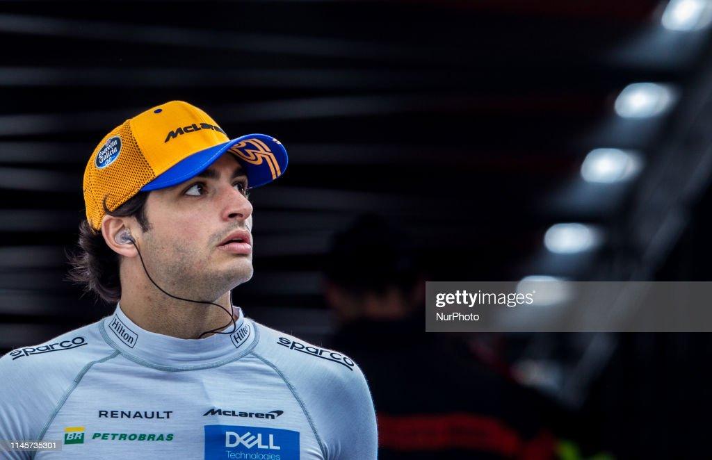 F1 Grand Prix of Monaco - Practice : News Photo