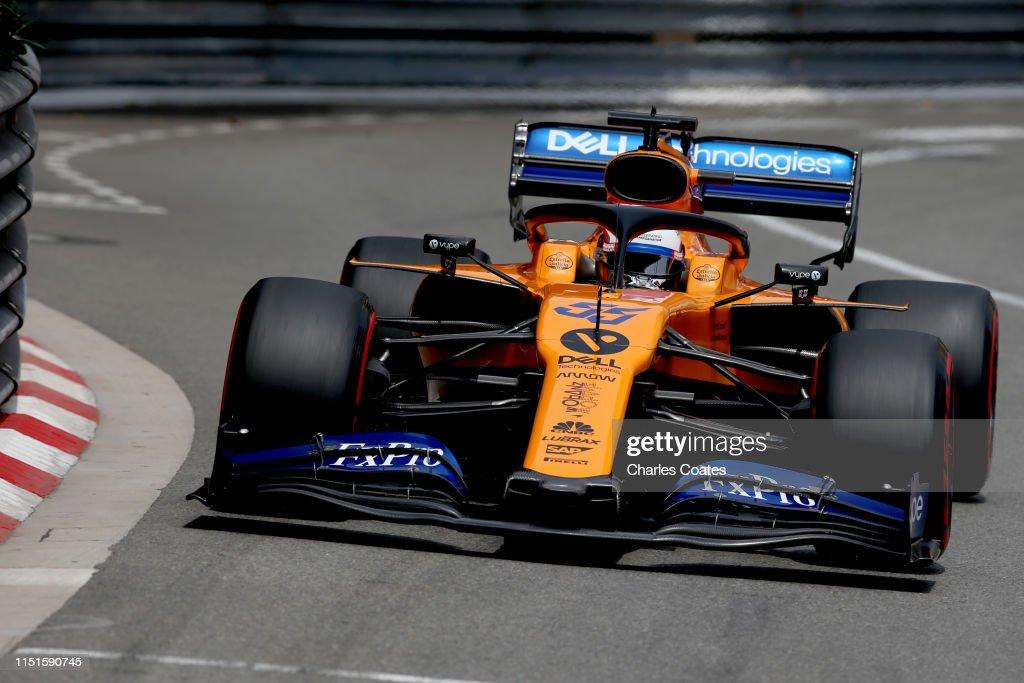F1 Grand Prix of Monaco - Final Practice : News Photo