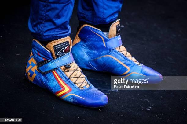 Carlos SAINZ's shoes at the 2019 Formula 1 Australian Grand Prix