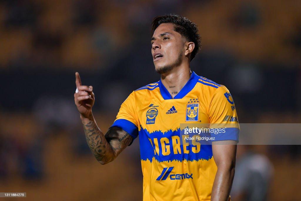 Tigres UANL v America - Torneo Guard1anes 2021 Liga MX : News Photo
