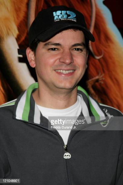 Carlos Saldanha during Ice Age 2 The Meltdown New York screening Inside Arrivals at Ziegfeld Theater in New York NY United States