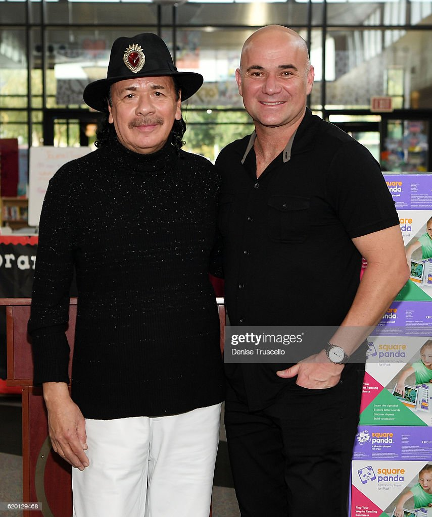 Carlos Santana, House Of Blues, And The Milagro Foundation Funds Project At Agassi Prep