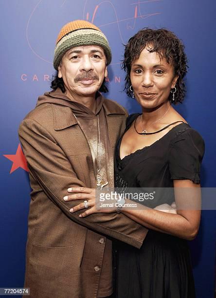 Carlos Santana and Deborah Santana