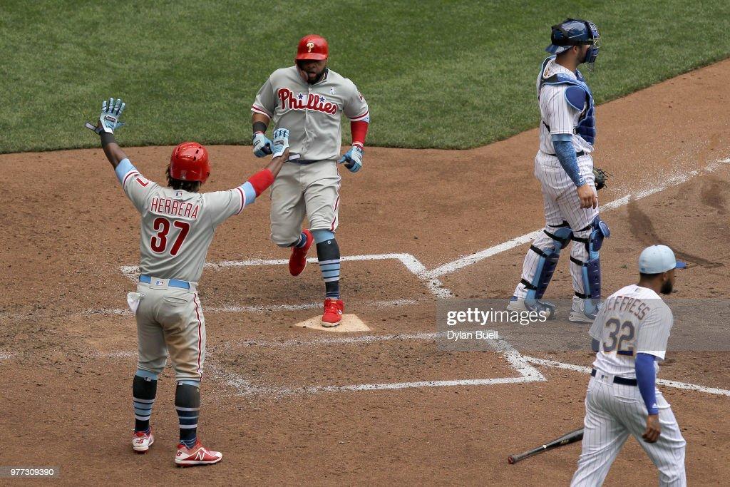 Philadelphia Phillies v Milwaukee Brewers : News Photo