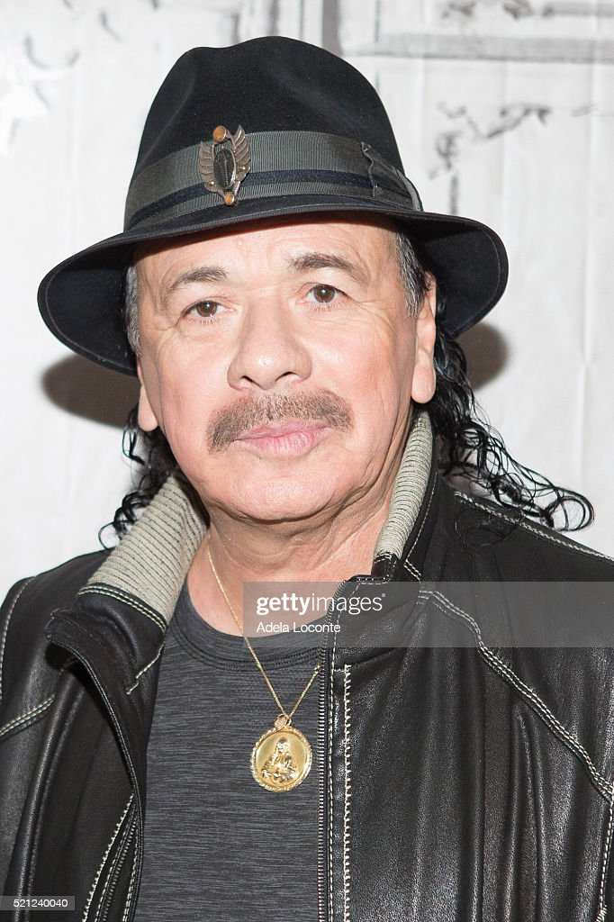 Carlos Santana atttends AOL Build Speaker Series 'Santana IV' at AOL Studios In New York on April 14, 2016 in New York City.