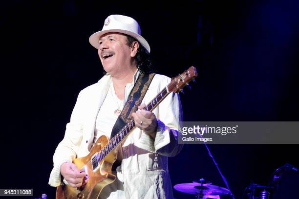 Carlos Santana during the Santana Divination Tour 2018 at the Cape Town Stadium on April 11 2018 in Cape Town South Africa Santana who first became...