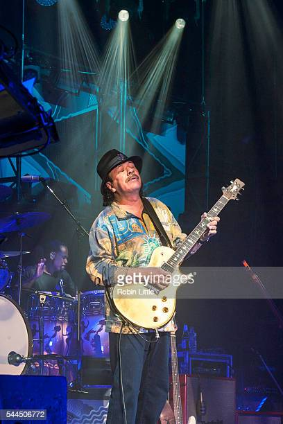 Carlos Santana performs at Eventim Apollo on July 3 2016 in London England