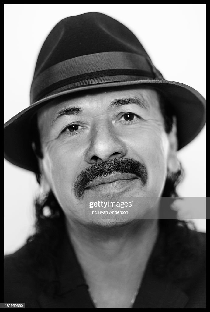 Carlos Santana poses for a portraits at the 2015 Billboard Latin Music Conference for Billboard Magazine on April 29, 2015 in Miami, Florida.