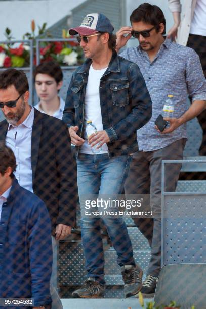 Carlos Santos and Stefan Savic are seen attending the Mutua Madrid Open tennis tournament at the Caja Magica on May 10 2018 in Madrid Spain