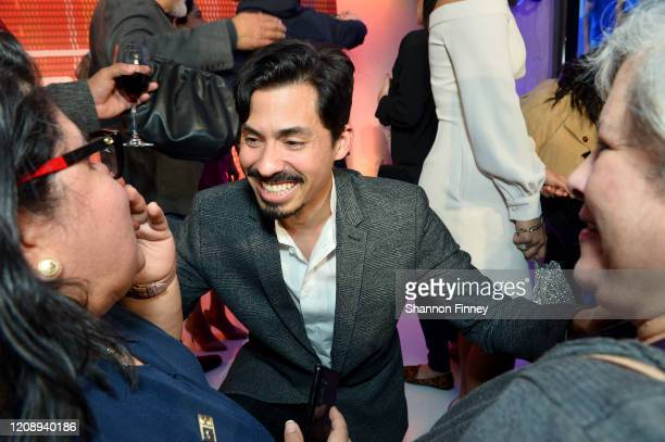 Carlos Santos attends as Netflix Celebrates The Premiere Of GENTEFIED In Washington DC on February 26 2020 in Washington DC