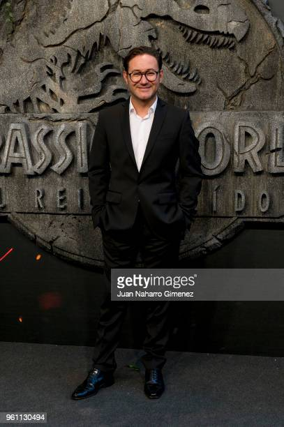 Carlos Santos attends the 'Jurassic World Fallen Kindom' premiere at Wizink Center on May 21 2018 in Madrid Spain