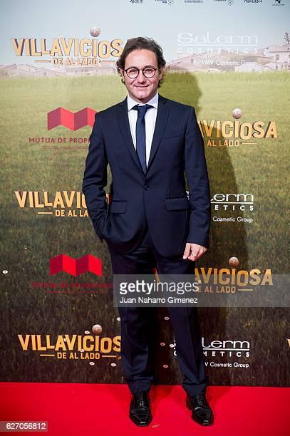 Carlos Santos attends 'Villaviciosa De Al Lado' premiere at Capitol Cinema on December 1 2016 in Madrid Spain