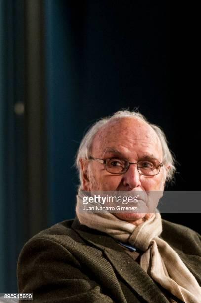 Carlos Saura attends Forque Awards presentation at Dore Cinema on December 20 2017 in Madrid Spain