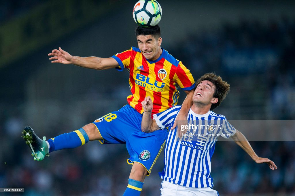 Real Sociedad v Valencia - La Liga : News Photo