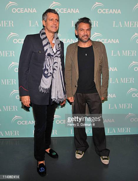 Carlos Souza and Carlos Mota attend World Ocean Day 2011 celebrated by La Mer and Oceana at Affirmation Arts on May 18 2011 in New York City