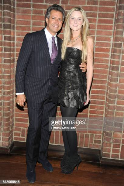 Carlos Souza and Nina Freudenberger attend Inaugural Junior Spring Benefit for LINCOLN CENTER INSTITUTE sponsored by VALENTINO at Hudson Hotel's...