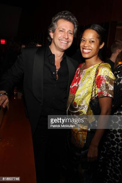 Carlos Souza Bonnie Morrison attend The Launch of SASHA LAZARD'S Myth of Red Concert Series at the Top of The Standard Hotel on December 09 2009 in...