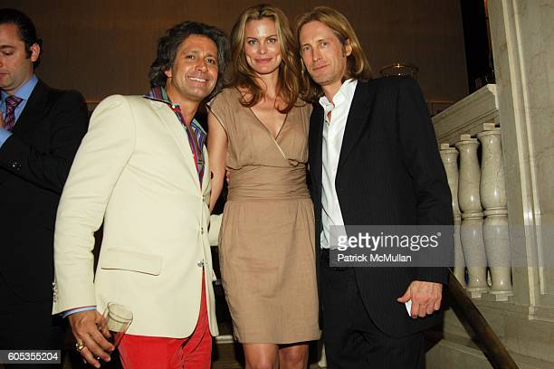 Carlos Souza Lorie Baker and Bruce Hoeksema attend Venetian Heritage MAN RAY Photo Exhibition at VBH on May 4 2006 in New York City
