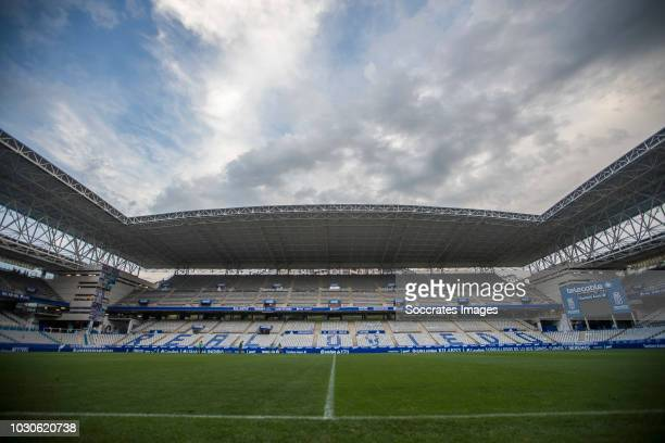 Carlos Tartiere Stadium of Real Oviedo during the match between Real Oviedo v Real Zaragoza at the Estadio Carlos Tartiere on September 8 2018 in...