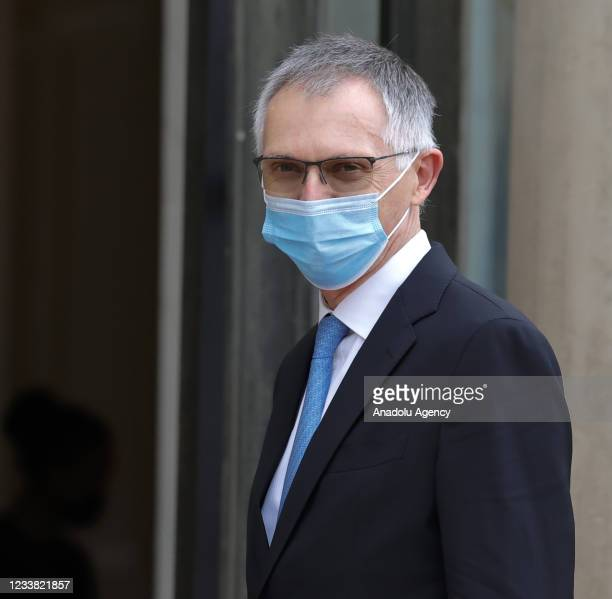 Carlos Tavares, chief executive officer of Stellantis arrives for a state dinner with the French President Emmanuel Macron and the Italian President...