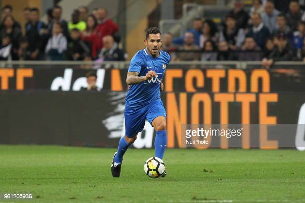 Carlos Tevez during quotLa partita del Maestroquot the farewell match by Andrea Pirlo at Giuseppe Meazza stadium on May 21 2018 in Milan Italy