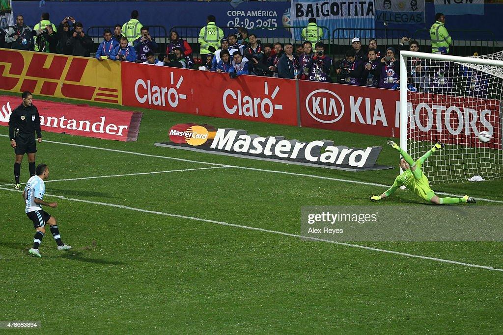 Argentina v colombia - 2015 Copa America Chile