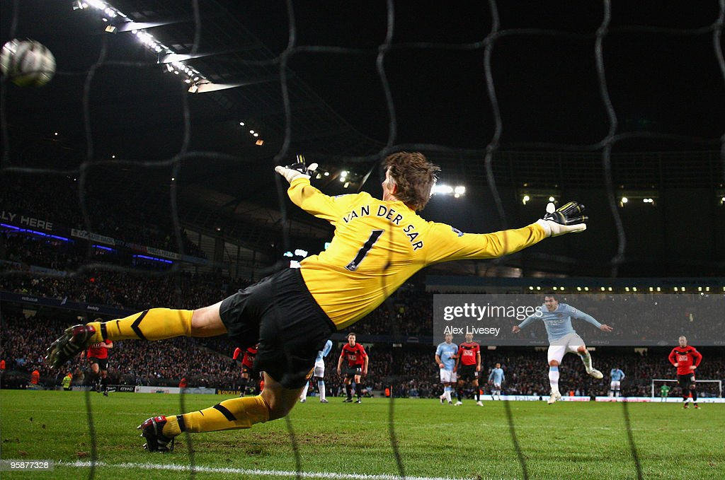 Manchester City v Manchester United - Carling Cup Semi Final