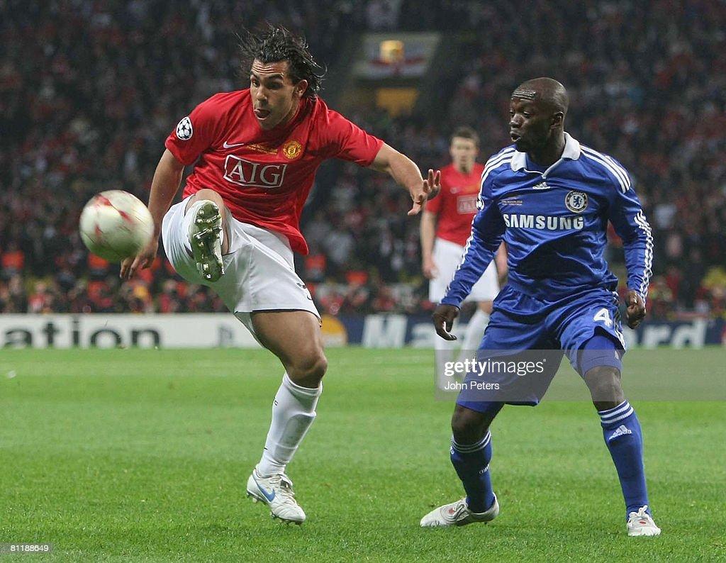 Manchester United v Chelsea UEFA Champions League Final 2008 : News Photo