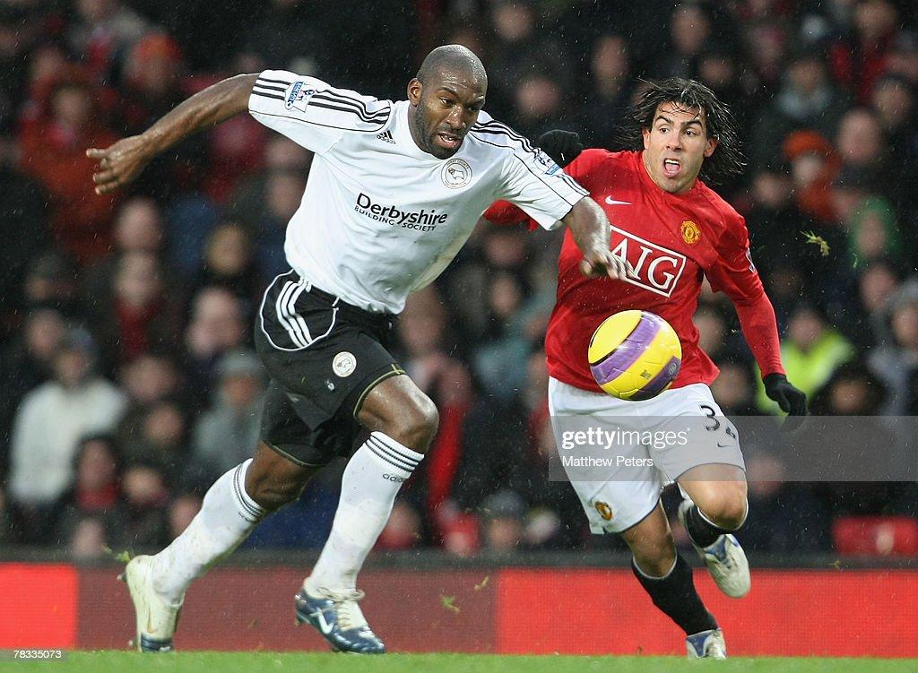Manchester United v Derby County : News Photo
